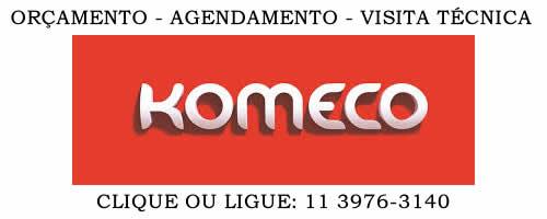Orçamento manutenção ar condicionado Komeco