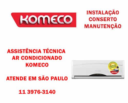 Assistência técnica ar condicionado Komeco