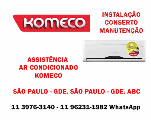Assistência ar-condicionado Komeco