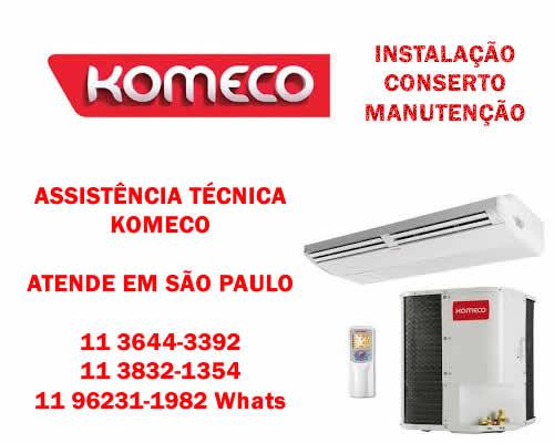 Assistência técnica Komeco